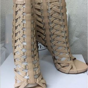 High Heel Caged Shoes 7.5 Steve Madden